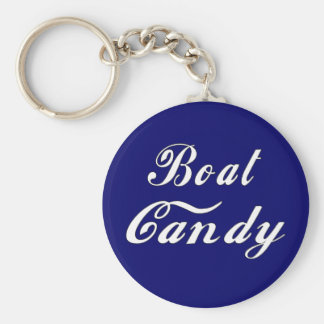 Boat Candy Keychain