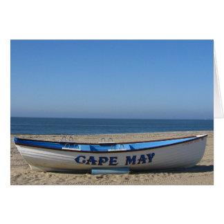 Boat * Cape May, NJ Card