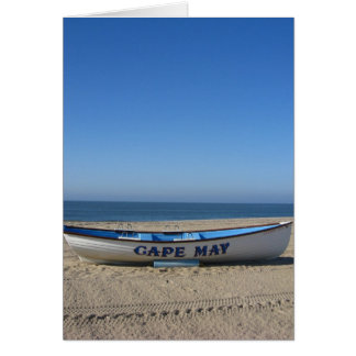 Boat * Cape May, NJ Greeting Card