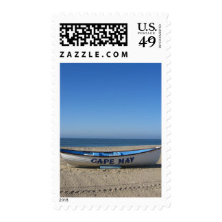 Boat * Cape May, NJ Stamps