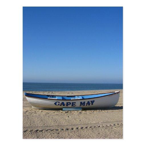Boat * Cape May, NJ Postcard