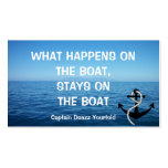 BOAT CAPTAIN - Business Card Template