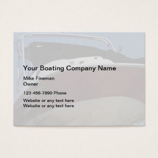 Boat Cleaning Business Cards