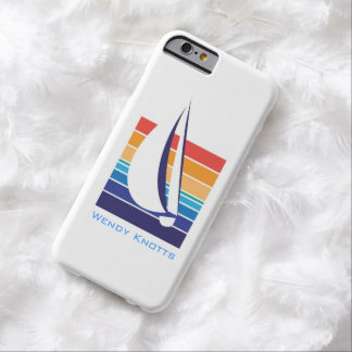 Boat Color Square_classic_personalized Barely There iPhone 6 Case