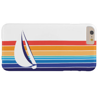 Boat Color Square_horizontal hues_custom designed Barely There iPhone 6 Plus Case