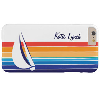 Boat Color Square_horizontal hues_personalized Barely There iPhone 6 Plus Case