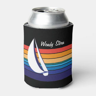 Boat Color Square_horizontal hues_personalized Can Cooler