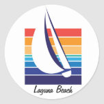 Boat Color Square_Laguna Beach stickers