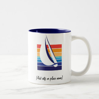 Boat Color Square_Namedrop mug