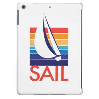 Boat Color Square_Sail iPad Air Cases