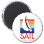 Boat Color Square_SAIL Florida magnet