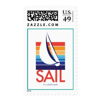 Boat Color Square_SAIL Florida postage