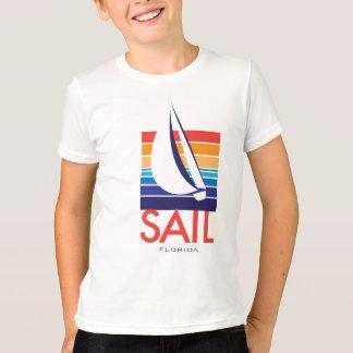 Boat Color Square_SAIL Florida T-Shirt