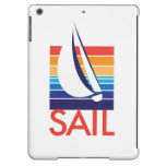 Boat Color Square_Sail iPad Air Covers