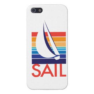 Boat Color Square_Sail iPhone SE/5/5s Cover