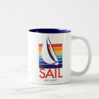 Boat Color Square_SAIL Key West mug