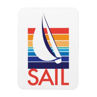 Boat Color Square_Sail Magnet