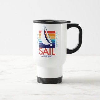 Boat Color Square_SAIL_UpWind DownUnder Auckland Coffee Mugs