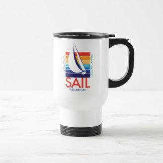 Boat Color Square_SAIL_UpWind DownUnder Wellington Travel Mug