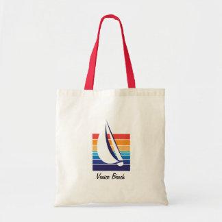 Boat Color Square_Venice Beach Tote Bag
