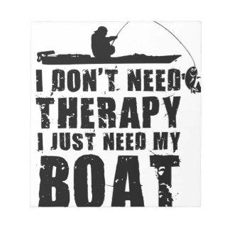 boat design beautiful notepad