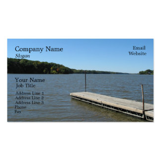 Boat Dock Business Card Template