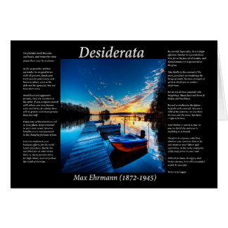 Boat Dock Card
