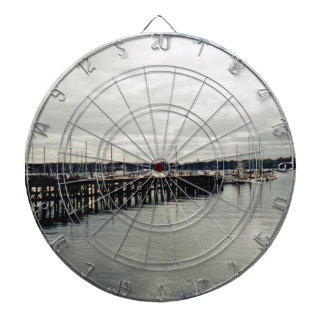 Boat Dock Dartboard With Darts
