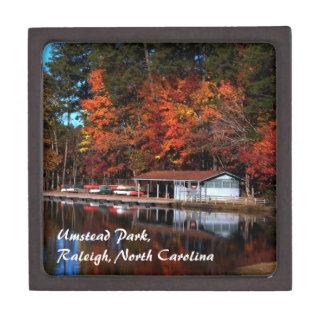 Boat Dock in Autumn Gift Box
