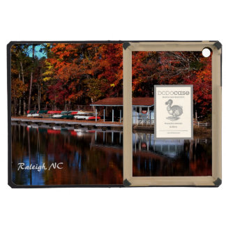 Boat Dock in Autumn ipad Covers