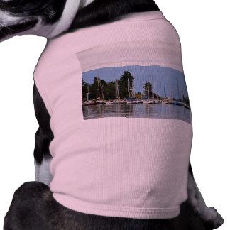 Boat Dock on Flathead Lake Pet T Shirt