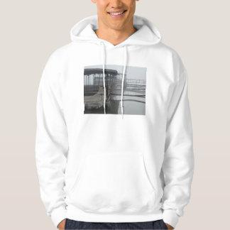 Boat Docks in the Lake of The Ozarks Hooded Sweatshirt