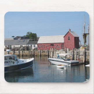 Boat Docks Mouse Pad