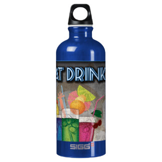 Boat Drinks Aluminum Water Bottle