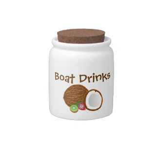 Boat Drinks candy jar