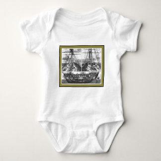 Boat Engraving #1 Baby Bodysuit