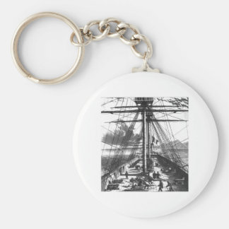 BOAT ENGRAVING #2 KEYCHAIN
