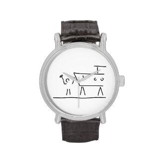 boat farmer ship dry dock wristwatch