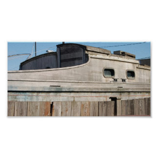 Boat fence poster
