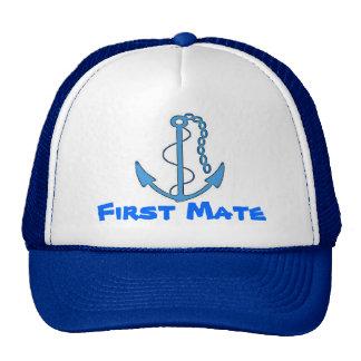 Boat First Mate Baseball Cap Trucker Hat