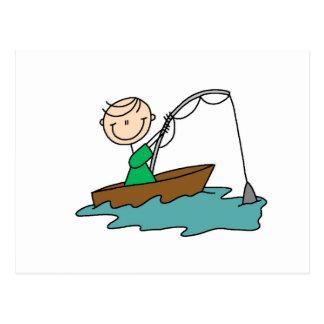 Boat Fishing Postcard