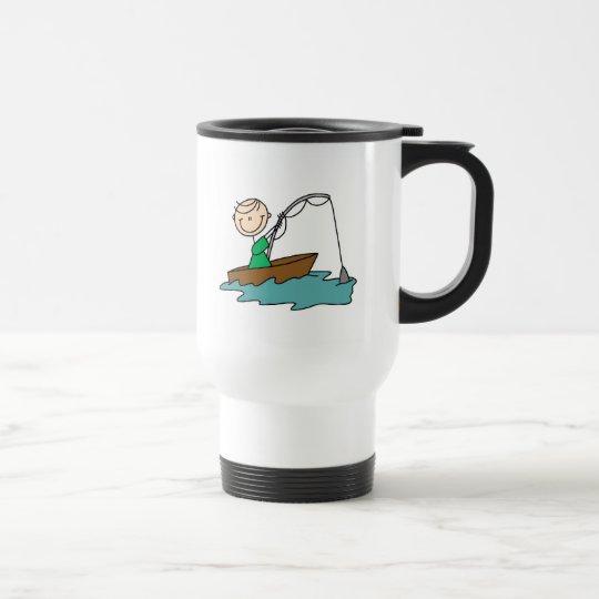 Boat Fishing Travel Mug