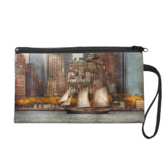 Boat - Governors Island, NY - Lower Manhattan Wristlets