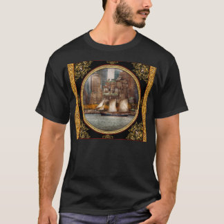 Boat - Governors Island, NY - Lower Manhattan T-Shirt