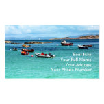 Boat Hire Business Card