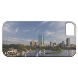 Boat house in the Charles River in The Esplanade iPhone 5 Cover