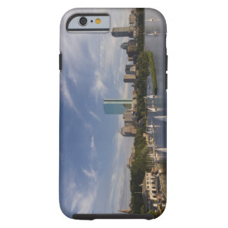 Boat house in the Charles River in The Esplanade Tough iPhone 6 Case