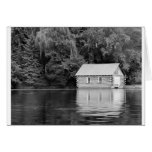 Boat House Note Card