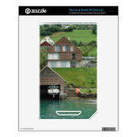 Boat house of houses on slope near the Lake Skin For The NOOK Color
