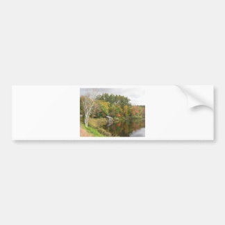 Boat House on the Lake Bumper Sticker